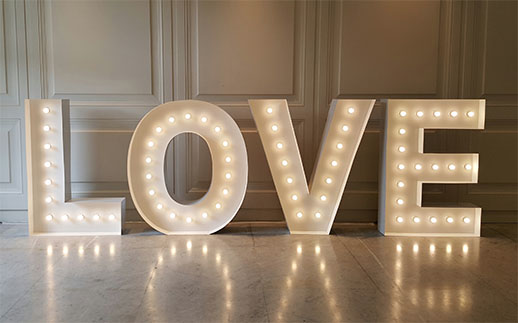 marquee letters photobooths light boxes light up letter co