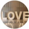 Suggested Product circles _LOVE LETETRS LIGHT UP